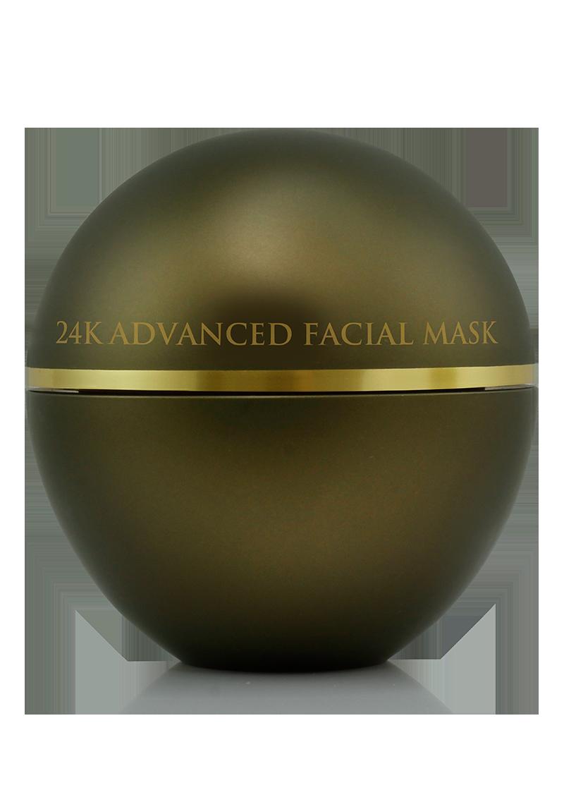 24K Advanced Facial Mask back